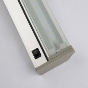 Moderne Spiegelleuchte wasserdicht Wandleuchte 48cm 61cm hochwertiges Wandbad AC85V-240V Eingang weiß 6000K warmweiß