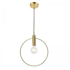 Moderne einfache kupfer pendelleuchten kreative deisgn pendelleuchte esszimmer balkon hanglamp lampara techo colgante e27 lampe 5 watt