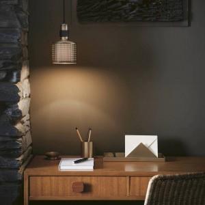 Moderne einfache led pendelleuchte gold metall lampenschirm hanglamp e27 3 watt led lampenfassung nodric droplight
