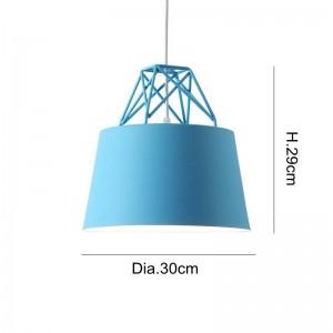Modernes einfaches nordisches macaron hängendes Lichterbuntes Esszimmerstabschlafzimmer-Nachtkaffeehaus kreatives LED-droplight