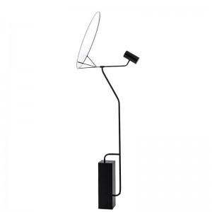 Moderner einfacher weißer Acryllampenschirm der stehenden Lampe führte Lampenfußbodenlicht-Foyerleseschlafzimmerbüroausgangs-LED-Beleuchtungs-Befestigung