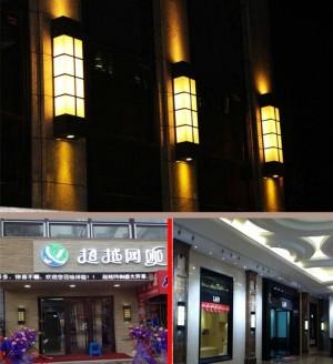 Moderne vertikale marmor garten licht wasserdichte außenwandleuchte lichter villa projekt hof außenbeleuchtung e27 led abajur