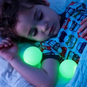 Pilzform 7 Farbverlauf Magie Nachtlichter leuchtende Kugeln Kreative LED Nachttischlampen Unterstützung EU / US / UK / AU Stecker