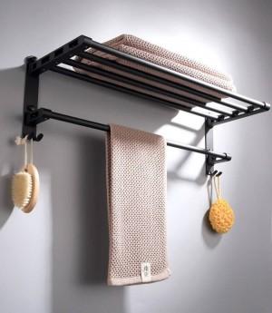 Zink-legierung schwarz bad zubehör set bad haken handtuchhalter, papierhalter bad hardware sets 9092 karat