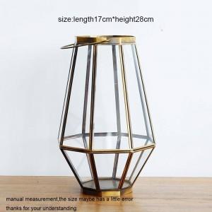 Neoklassizistischer Kerzenhalter Glas Candlelight Dinner Nachtlicht Windlicht Aromatherapie Kerzenbasis Haushaltsdekoration Kunsthandwerk