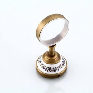 New Cup & Tumbler Halter Antique Tumbler Zahnpasta Zahnbürstenhalter Mit Sigle Keramik Tassen Bad-Accessoires 9223K