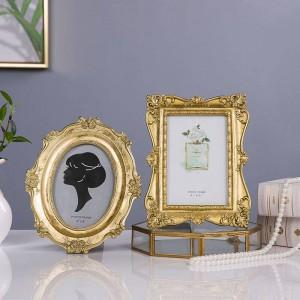 Neue Französisch Licht Luxus Goldene Geschnitzte Vintage Bilderrahmen Bilderrahmen Bilderrahmen Weiche Ornament Dekoration Schönheit