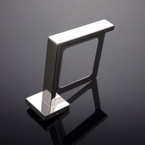 New style Chrom / Schwarz Farbe Bad edelstahl bad toilettenbürstenhalter Wand bad zubehör 9155 Karat