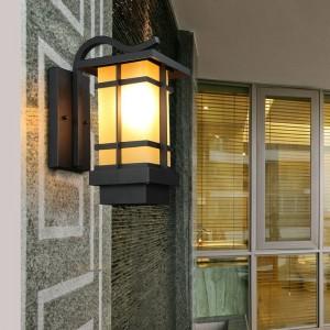 New Vintage Wandleuchten im Freien wasserdicht Gang Balkon Garten Villa Indoor Retro Garten Europäische Led Lampe Außenwandleuchte