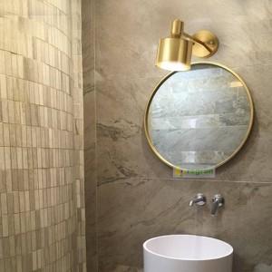 Nordic Messing Lesewand Laterne Moderne Goldene Seide Gang Schlafzimmer Nachttischlampe Kosmetikspiegel Lampen Wandleuchten Für Zuhause