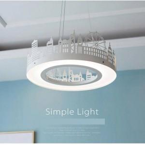 Nordic hängende lichter für kinderzimmer moderne home kreative led pendelleuchte kinderzimmer led schlafzimmer prinzessin lampenschirm