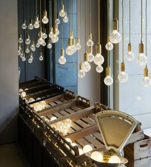 Nordic LED Pendelleuchte Einfachheit Kreative Tropfen Lampe handgemachtes Glas Hängelampe Licht Kunst Dekoration 3W G9 LED Birne