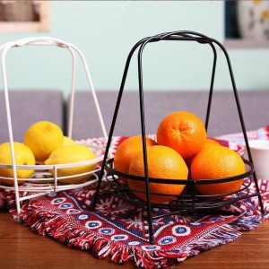 Nordic Wohnzimmer Kreative Obstkorb Edelstahl Obstschale Home Modernen Minimalistischen Obstkorb Desktop Ablagekorb