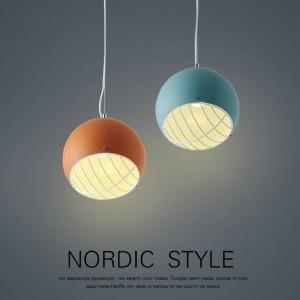 Nordic Pendelleuchten Ball modernen minimalistischen europäischen Schlafzimmer Wohnzimmer Studie Gang Restaurant Droplight persönliche LED-Beleuchtung