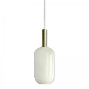 Nordic Post Modern Matt Milchweiß Glasschirm Pendelleuchten Foyer Esszimmer Schlafzimmer Creative Droplight Leuchte