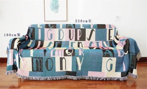 Nordic Decke Thread Sofa Cover Fashion Brief Staubschutz Abdeckung Plaid Schonbezug Cobertor Decken Für Betten Quaste