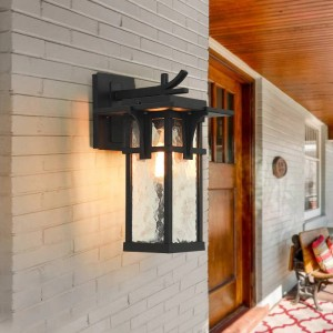 Außenbalkon Wasserdichte Induktion Wandleuchte wandleuchten für haus Hof Garten Villa Lampe Ländlichen Antiken Aluminium Lampe