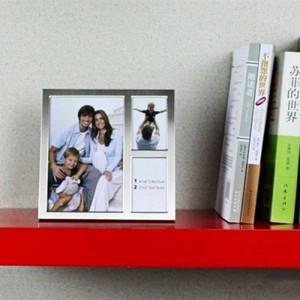 Fotorahmen Metall 6 Zoll 3 Zoll Kombination Rahmen drei Wohnkultur Geburtstagsgeschenk Hochzeitsdekoration