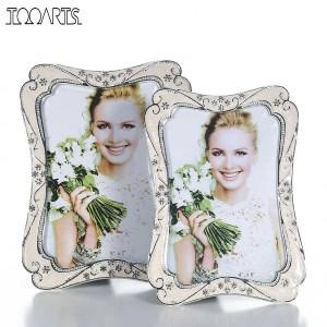 Fotorahmen Vintage Bilderrahmen Blumenumrandung Verschönerung Fotorahmen Hochzeit Weihnachtsgeschenk