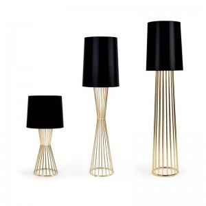 Post moderne Kunst Dekoration Stehleuchte Nordic Design Stehleuchte Office Desk Stehleuchte Art Home Dekoration Lampe Gold Farbe
