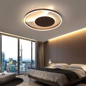 Fernbedienung deckenleuchten für wohnzimmer schlafzimmer weiß balck körper Farbe home Deco lampe AC90-260V hause leuchte