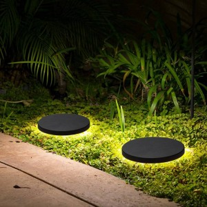 Runde led rasen lampe outdoor moderne led rasen licht wasserdicht hofgarten wandleuchte landschaft lampe indoor außenbeleuchtung