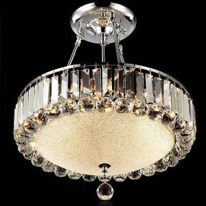 Runde moderne kristall kronleuchter wohnzimmer led restaurant lampe kristall lampen deckenleuchte lampen arbeiten glas kronleuchter