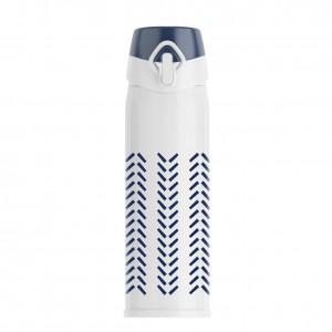 Secret Blue Series Saugnapf Edelstahl Kugelabdeckung Thermoskanne Tasse Kreatives Geschenk Becher Große Kapazität Wasserspeicher Thermoskanne