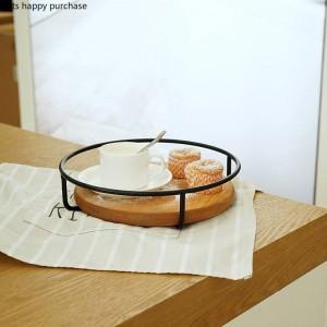 Single Layer / Double Layer Tortenständer Party Hochzeit Obstteller Tortenständer Dessert Lagerregal Desktop Holz Aufbewahrungstablett
