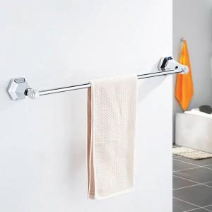 Einzel-Handtuchhalter Schwarzer Handtuchhalter für die Wandmontage in Handtuchhaltern Handtuchhalter Badzubehör Badzubehör 93010
