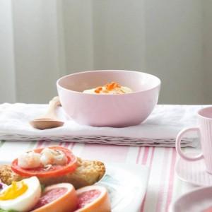 Normallack-Reis-Schüssel-Abendessen-Schüssel-keramisches Dinnerwares