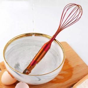Edelstahl Schneebesen Hand Ei Mixer Schneebesen Sahne Backmehl Rührer Küche Kuchen Kochwerkzeug Küche Zubehör