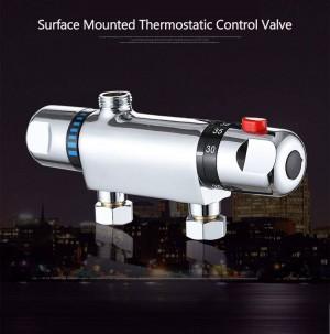 Temperaturregelung Thermostat Duschventil Wasserhahn Mischbatterie Wandmontage