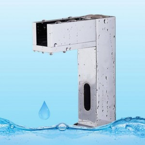 Die neue LED-Leuchten mit Wasserfall voll Kupfer automatische Warm-und Kaltwasser Mischwasser automatische Sensor Wasserhahn XR8848