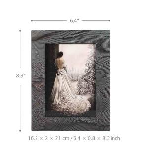 TOOARTS Fotorahmen mit Federbeschaffenheit Holzklavier Backlack Technologie Büro Studand Schlafzimmer Zuhause Ornament Bilderrahmen