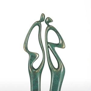 Die Liebhaber 3 Fiberglas Figur Volkskunst Wohnkultur Original Design Liebhaber Miniatur Figur Für Home Office