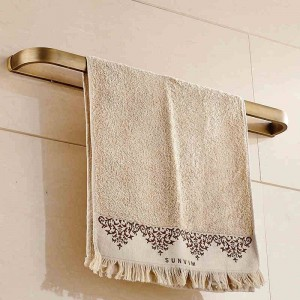 Handtuchhalter 60 cm Massivem Messing Bad Regal Handtuchhalter Kleiderbügel Handtuch Einzelne Schiene Wand Badzubehör Handtuchhalter F81324