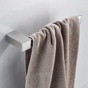 Handtuchringe Schwarz SUS 304 Edelstahl Handtuchhalter Halter WC Handtuchhalter Lagerung Wandmontage Bad Hardware Set 610007