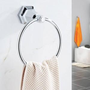 Handtuchringe Massivem Messing Gold Wand Handtuchhalter Kleiderbügel Handtuchhalter Badzubehör Dekoration Handtuchhalter 93007
