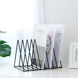 Dreieckiger Metalltisch Aufbewahrungskorb European Chic Nordic Schreibtisch Aufbewahrungskorb Magazin Papierdokumente Organizer Home Decor SL