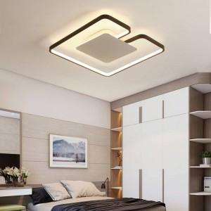 ultradünne LED Iron art Deckenleuchten für die Wohnzimmerlüster Deckenleuchte für die moderne Deckenleuchte hoch 6cm
