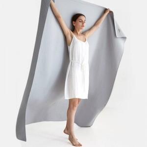 Waffel-Tuch-Decke Breathable Sofa-Strand-feste Wurfs-Decke LuxusCobertor feste doppelte Decken für Betten 3 Farben