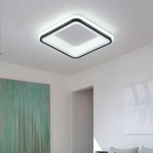 Weiß / schwarz finnische moderne led einzigen deckenleuchten kreative luminaria led einzigen teto wohnzimmer zu hause decorationac85-260v